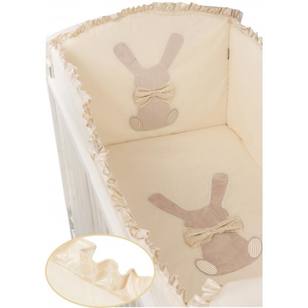 Комплект в кроватку 6 предметов Makkaroni Kids (Маккарони Кидс) Toy Rabbit