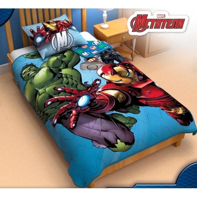Детское одеяло панно Marvel Команда мстители 1230425
