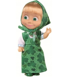 Кукла Маша в зеленом сарафане Маша и Медведь 9301678...