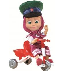 Кукла Маша в фуражке с велосипедом Маша и Медведь 9301684...
