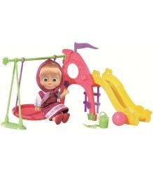 Кукла Маша на детской площадке Маша и Медведь 9301816...