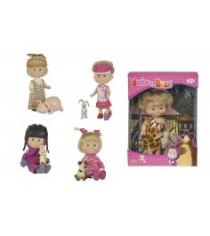 Кукла Маша в разных одеждах с друзьями-животными Маша и Медведь 9302117...