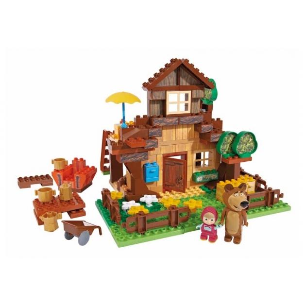 Конструктор Маша и Медведь Дом Мишки 800057098