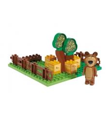 Конструктор Маша и Медведь Пчелиная ферма Мишки 800057092