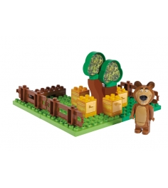 Конструктор Маша и Медведь Пчелиная ферма Мишки 800057092...