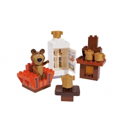 Конструктор Маша и Медведь Кухня Мишки 800057093...