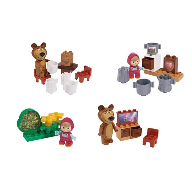 Конструктор Маша и Медведь стартовый набор 800057090