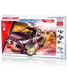 Конструктор Meccano Раллийная машина с мотором 25 моделей 91776...