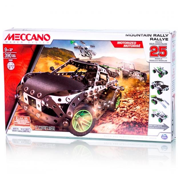 Конструктор Meccano Раллийная машина с мотором 25 моделей 91776