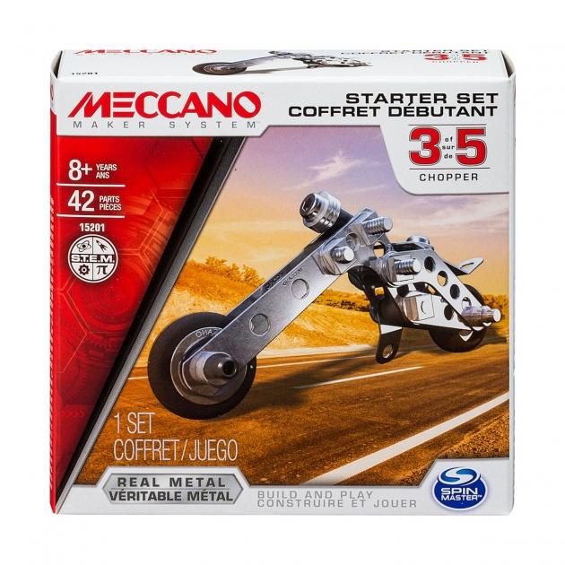 Конструктор Meccano Базовая модель в ассортименте 91783