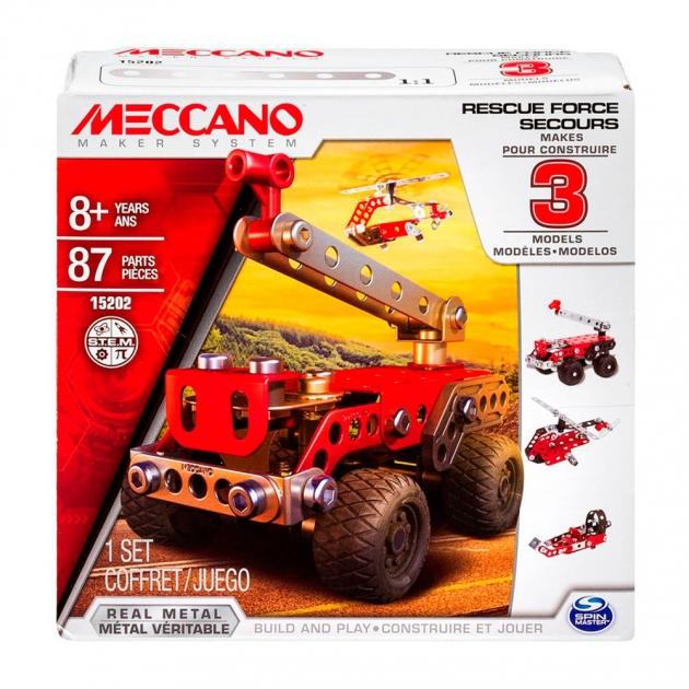 Конструктор Meccano Техника службы спасения 3 модели 91784