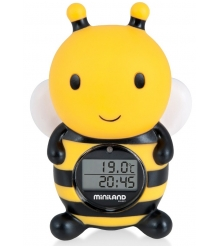 Детский термометр цифровой для воды и воздуха Miniland Thermo Bath 89061