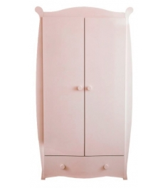 Детский двухстворчатый шкаф Можга С538 ваниль