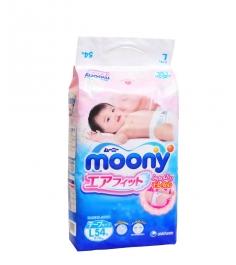 Подгузники Moony L 9-14 кг 54 шт
