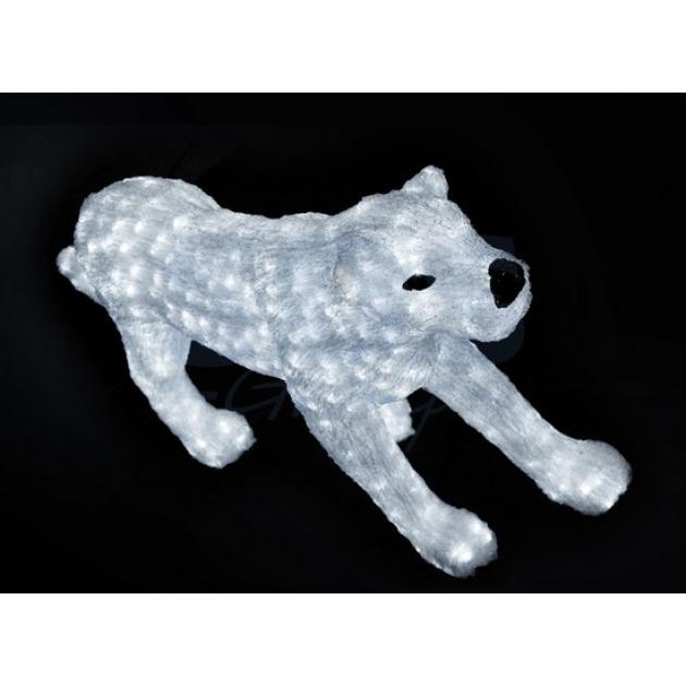 Акриловая фигура Леопард идет 70см, 1200 светодиодов, понижающий трансформатор в комплекте, Neon Night 513-242