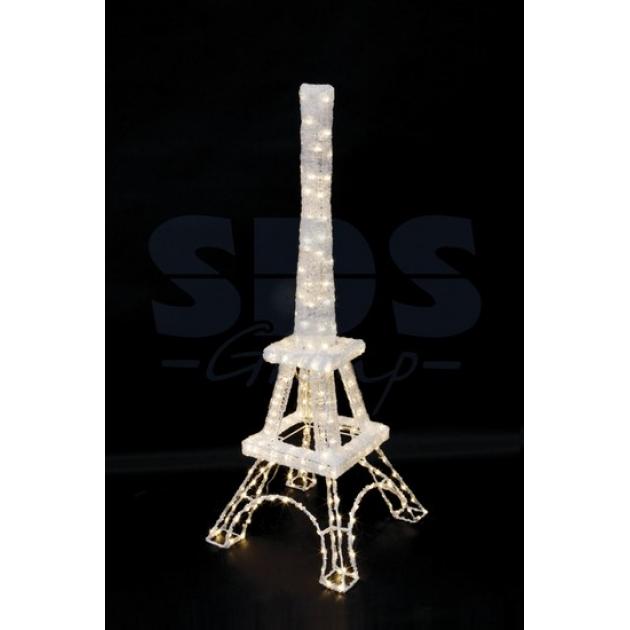 Акриловая фигура Эйфелева башня 135*50 см, 280 светодиодов, понижающий трансформатор в комплекте, Neon Night 513-304