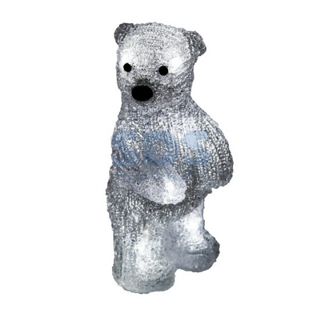 Акриловая фигура Медвежонок 12х22х13 см, 4,5 В, 3 батарейки AAA не входят в комплект, 10 светодиодов, Neon Night 513-311