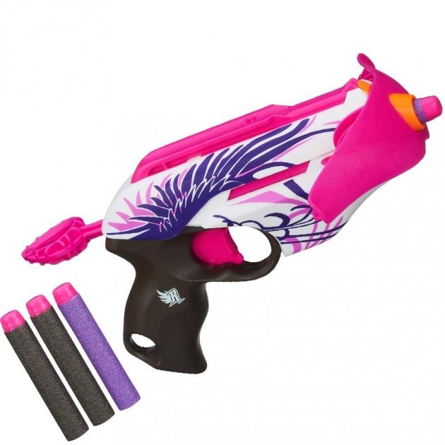 Nerf Бластер Розовое сумасшествие A4739