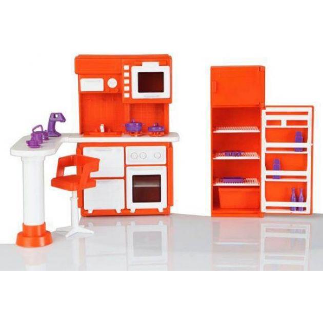 Мебель для кукольного домика огонек