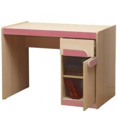 Детский письменный стол Лайф-3 розовый