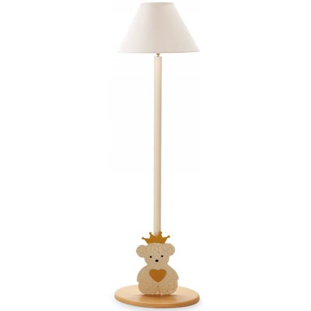 Детская лампа напольная Pali Caprice Roual античная слоновая кость