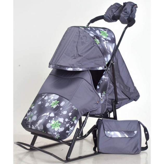 Детские санки Papajoy Kristy Luxe Comfort