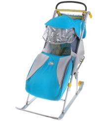 Детские санки коляска Papajoy Ника детям 2