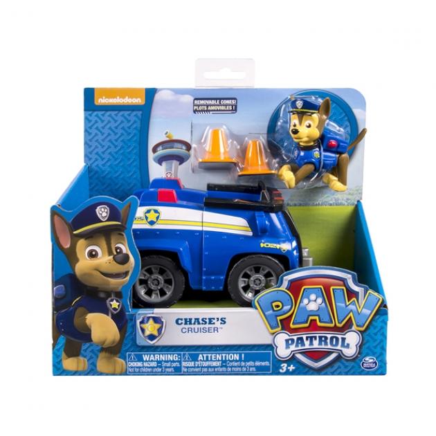 Игрушка щенячий патруль Машинка спасателя и щенок Чейз 16601-Cha