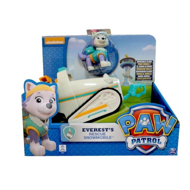Игрушка щенячий патруль Машинка спасателя и щенок Эверест 16601-Ever