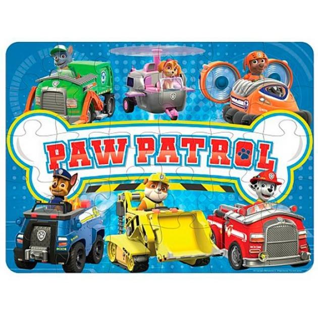 Игра щенячий патруль Spinmaster коврик пазл 6028788