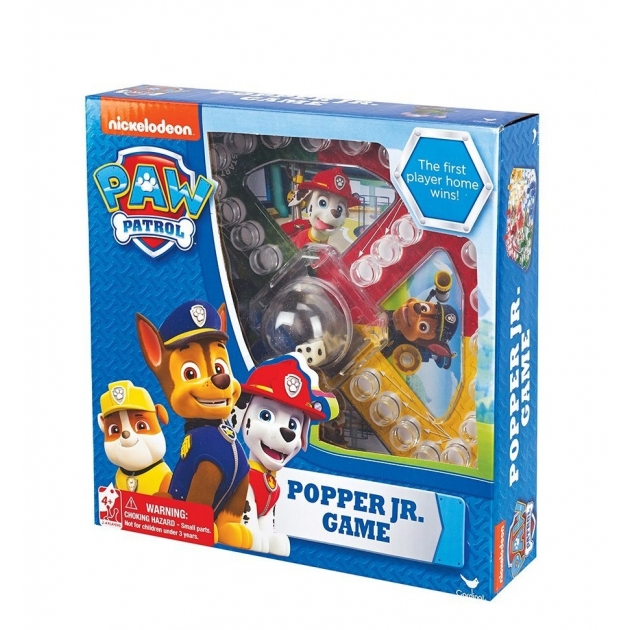 Настольная игра щенячий патруль с кубиком и фишками 6028799