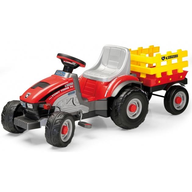 Детский педальный трактор Peg Perego Mini Tony Tiger 0529