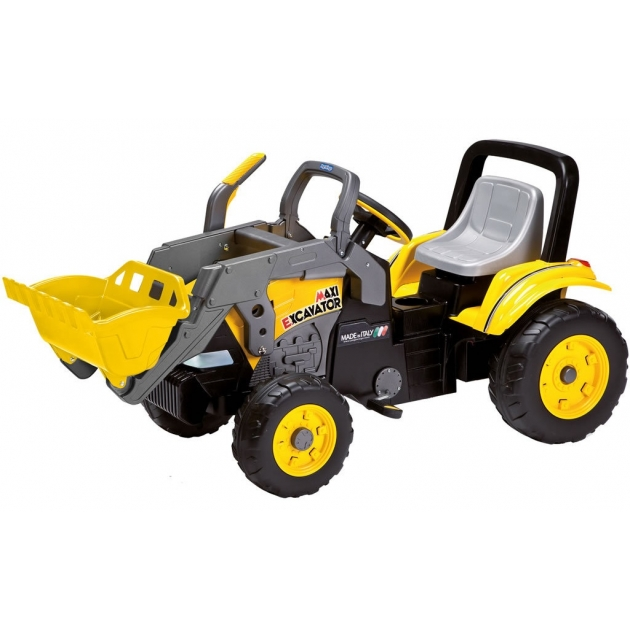 Детский педальный трактор Peg Perego Maxi Excavator D0552