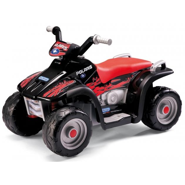 Электромобиль квадроцикл Peg Perego Polaris Sportsman Nero ED1106