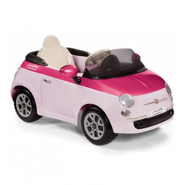Электромобиль Peg Perego Fiat 500 pink ED1162