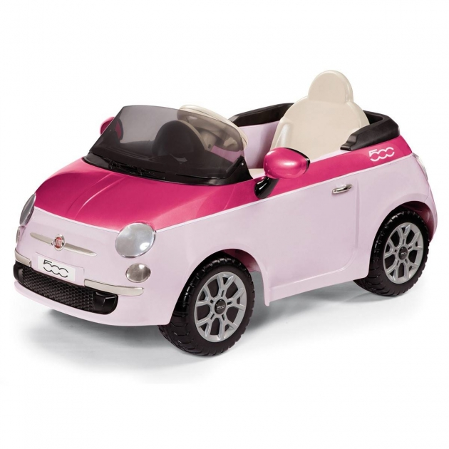 Электромобиль Peg Perego Fiat 500 pink (на р/у) ED1164