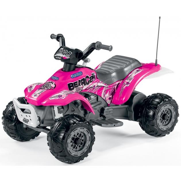 Электромобиль квадроцикл Peg Perego Corral Bearcat Pink ED1166