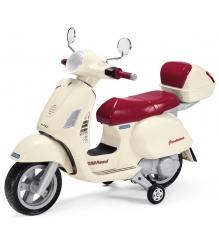 Электромобиль скутер Peg Perego Vespa+ багажник MC0019...