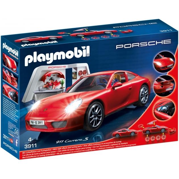 Игровой набор Playmobil Лицензионные автомобили Porsche 911 Carrera S 3911pm