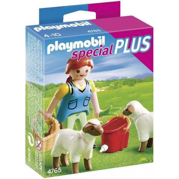 Фигурки Playmobil Девушка с овцами 4765pm