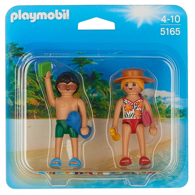 ДУО Playmobil Посетители пляжа 5165pm