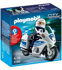 Playmobil Полицейский мотоцикл 5185pm