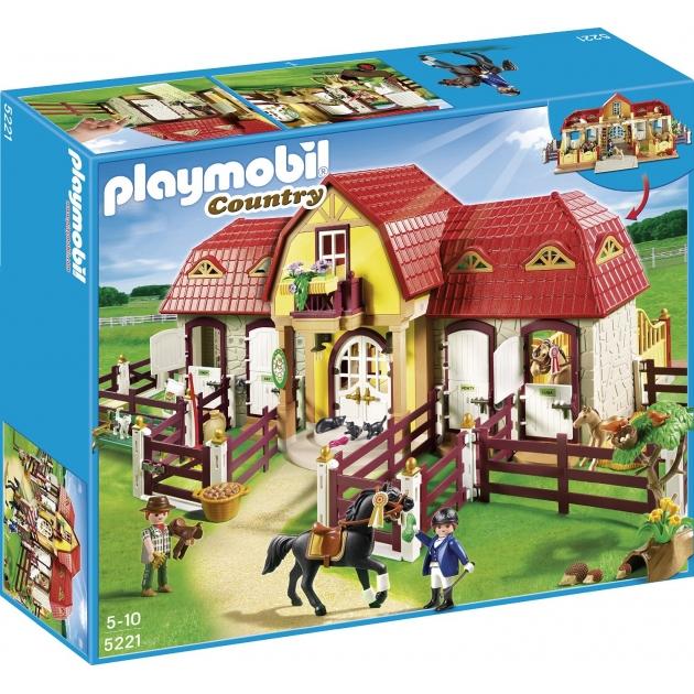 Playmobil серия конный клуб Большая конюшня 5221pm