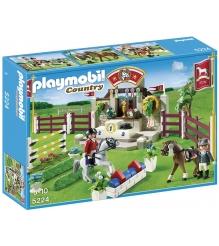 Playmobil серия конный клуб Манеж для выездки и конкура 5224pm...