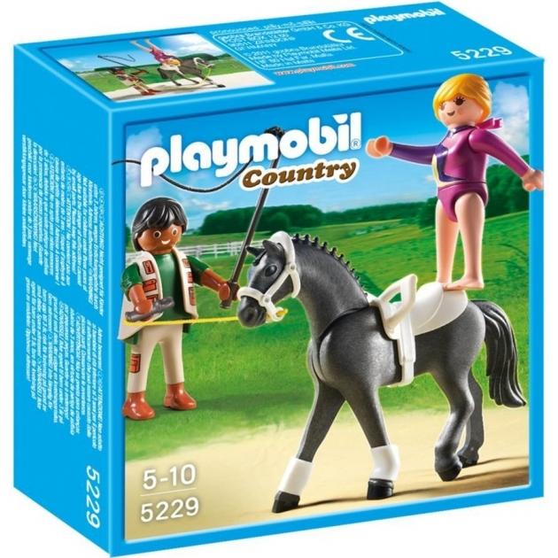 Playmobil серия конный клуб Наездница  эквилибристка на лошади 5229pm