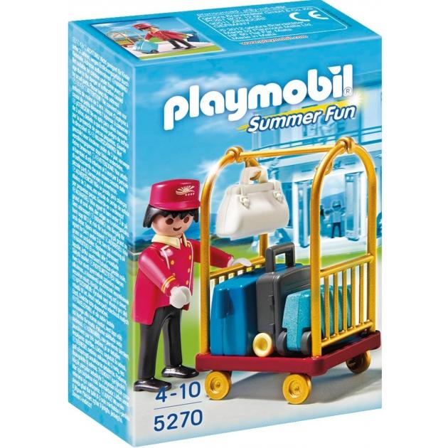 Отель Playmobil Носильщик с чемоданами 5270pm