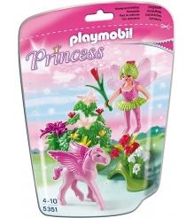 Playmobil Принцесса Сказочная Принцесса Весны с летающей лошадкой 5351pm...