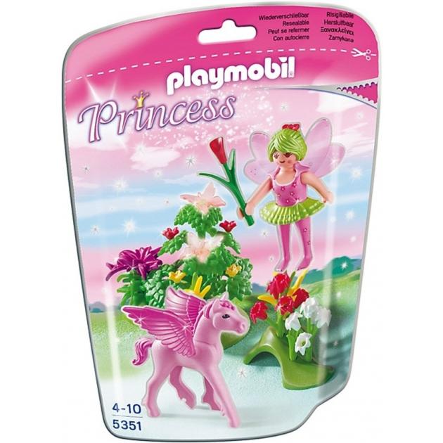 Playmobil Принцесса Сказочная Принцесса Весны с летающей лошадкой 5351pm