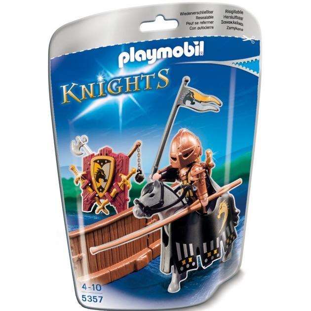 Playmobil Рыцари Турнир рыцаря ордена Дикого скакуна 5357pm