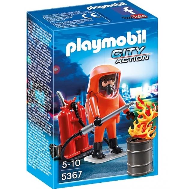 Playmobil Пожарная служба Специальные пожарные силы 5367pm